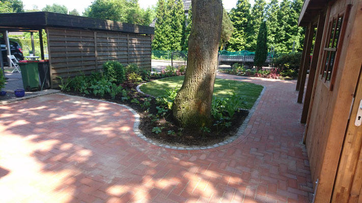 Neugestaltung Wege | Garten- und Landschaftsbau Garber