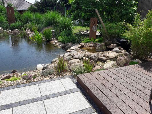 Teich | Garten- und Landschaftsbau Garber
