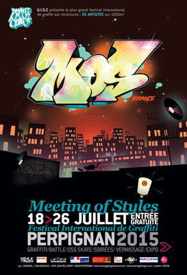 affiche Meeting Of Style France 2015