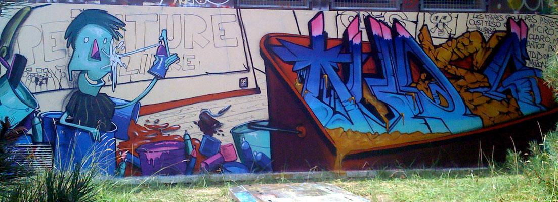Bac de graff - GASPAR et ODEG - Biarritz 2010