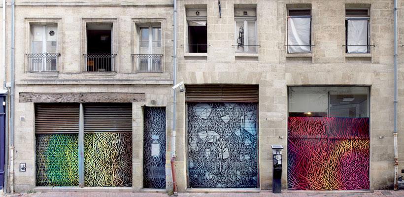Odeg frites, Rue Toulouse Lautrec, Bordeaux, 8x4m, 2016