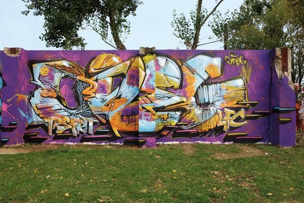 Odeg, jam EXIT, parc aux angeliques, Bordeaux. 2015