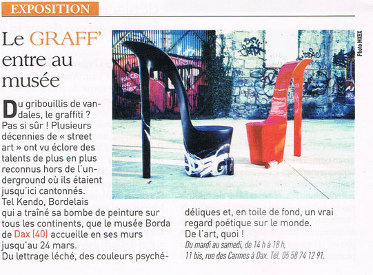 Journal Sud ouest - 2012