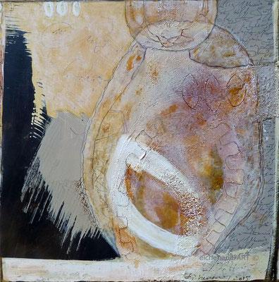 Gedankenwelt II | 90 x 90 cm