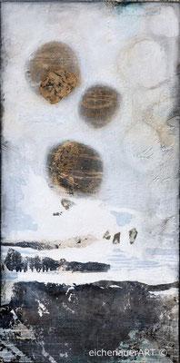 Eiszeit I | 100 x 50 cm