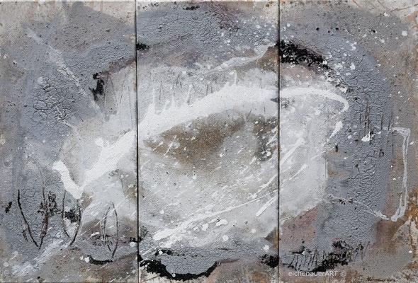 Milchstraße-Triptychon | 60 x 90 cm