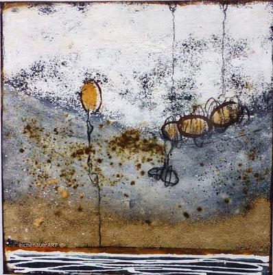 Käferwanderung | 30 x 30 cm