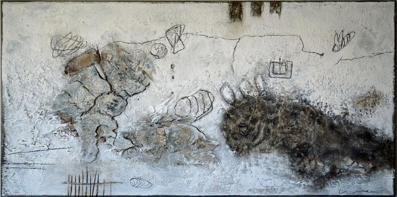 Frei - Experimentell | 50 x 100 cm