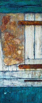 Fridas Schuppentür | 120 x 50 cm