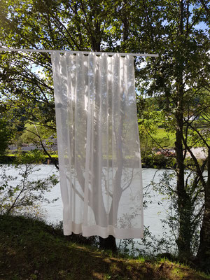 Vorhang daah am Ufer