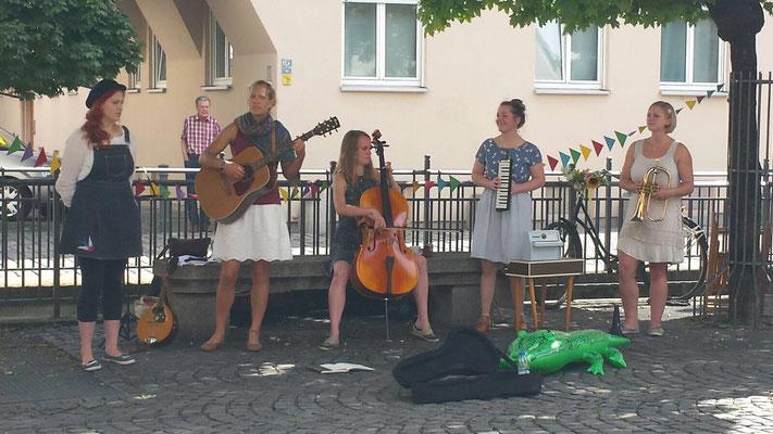 Mal wieder Straßenmusik