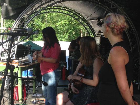 """Unser erster Festival-Auftritt beim """"Waldstock"""""""