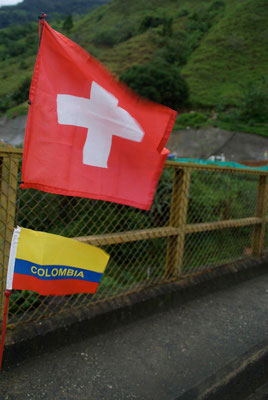 New Country, New flag. Colombia.
