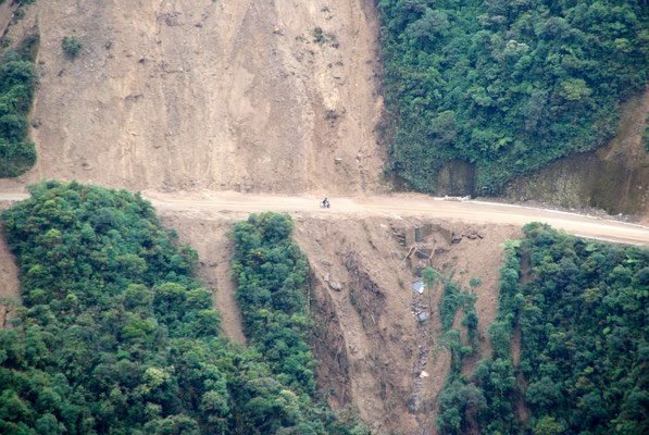 The road is very instable.