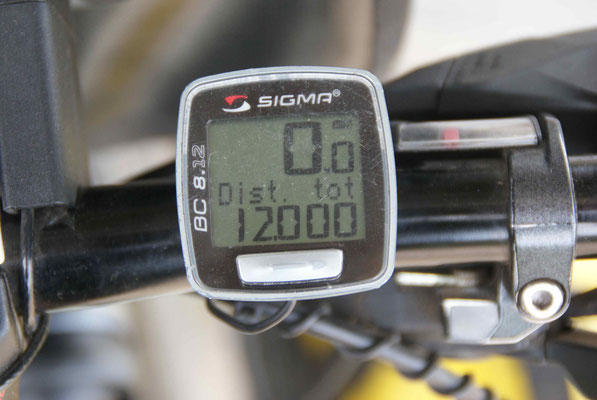 12'000 km! Well done!