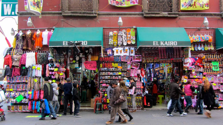 In Mexico City, you can buy nothing and everything!