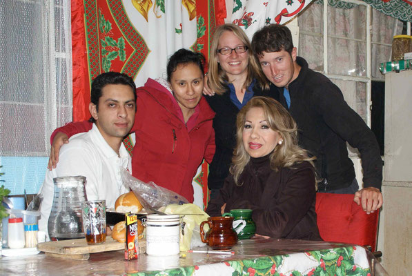 With Fernanda, Josh and Alejandria