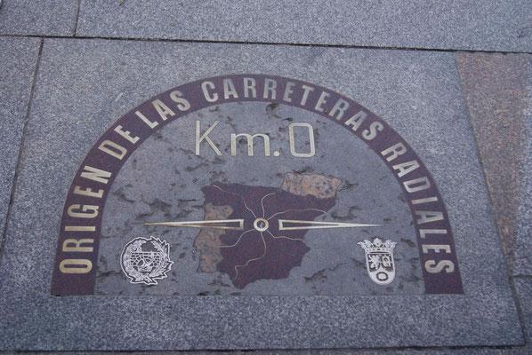 KM 0 of Spain.