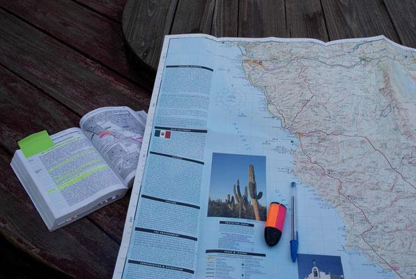 Maps for Baja California