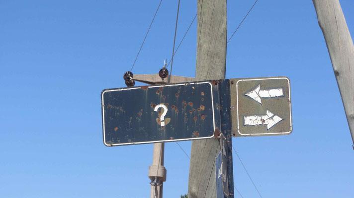 Trotz ? folgen wir der Ruta 40 bis San José de Jachal. // All the way we are riding on Ruta 40.