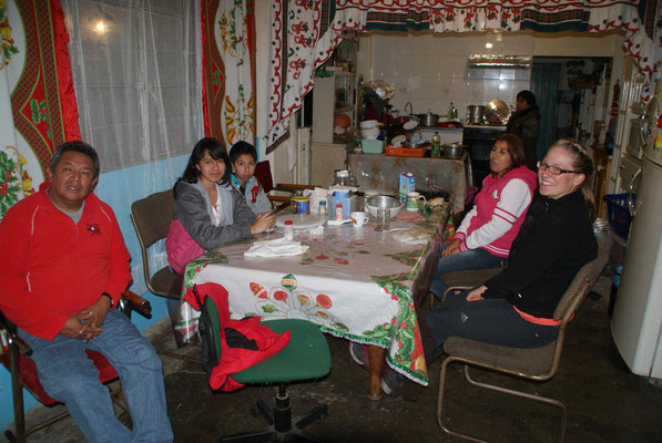 With Rodolfo, Sandra, Jesus, Marina y Rosa.