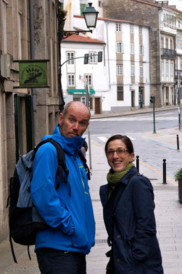Our cycling friends Quique and Alicia.