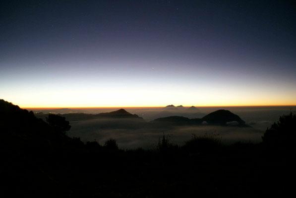 Sunrise at 5.30h