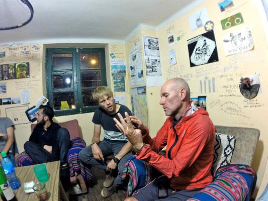 La casa de Ciclistas de La Paz