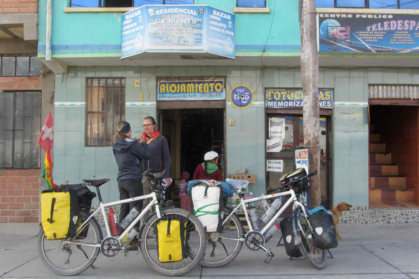 Just before the boarder to Chile we stayed for the night in Tambo Quemado
