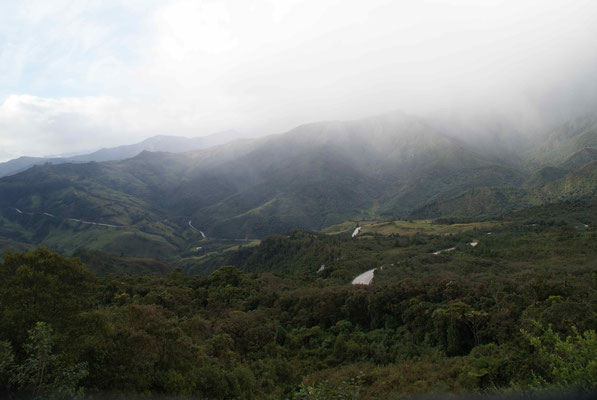 The road after Vilcabamba.