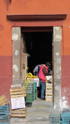 Last Christmas shopping in San Miguel de Allende