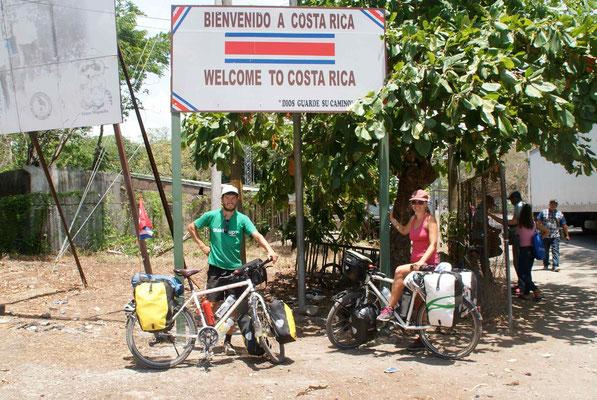 Bienvenido a Costa Rica.