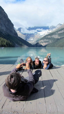 Posing @ Lake Louise