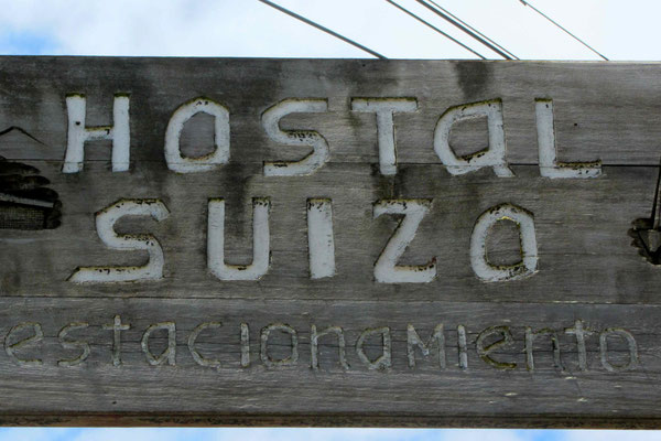 Hostal Suiza. Relaxed place to stay in Puerto Montt.