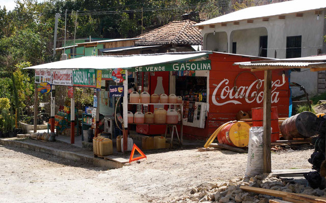 In Chiapas, You can buy some fuel in canister.