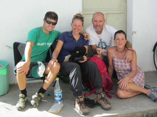 One year ago we stayed with Quique and Alica (Spain) in Canada. Now we stay see each other again here in Quito.