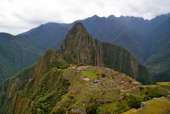 Welcome to Machu Picchu.