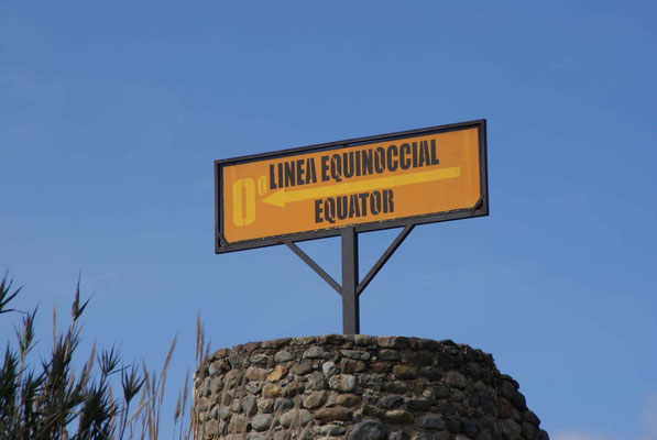 0'0'0' We cross the equator after Cayambe.