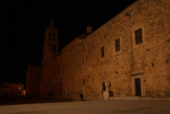 Sombrerete by night.