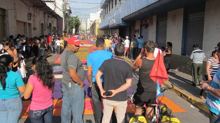 Good Friday. Tegucigalpa, Capital of Honduras.