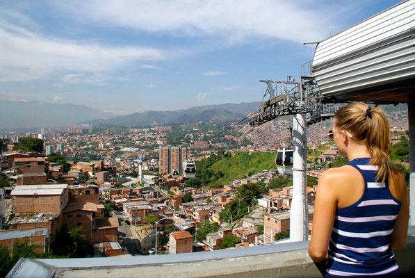 Metrocable, Medellín.