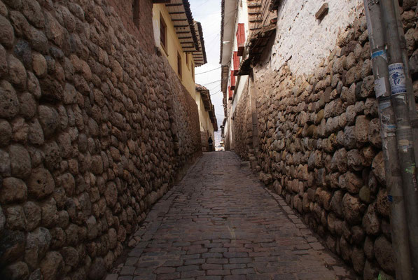 Cusco, the first capital of the Incas.