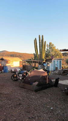 Overnight at Rancho El Sacrificio.