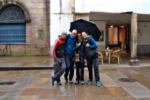 Together we spent a great day, trying the specialities of Galicia.
