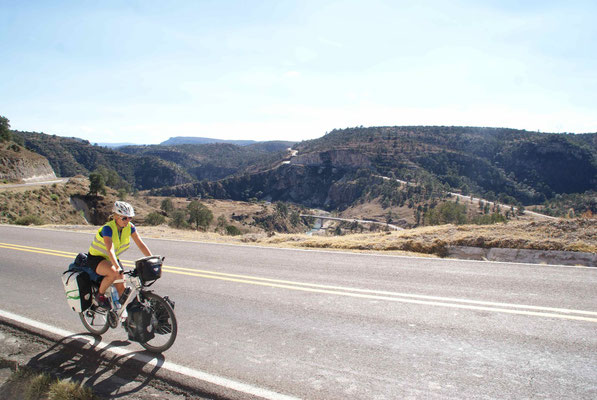 The last climb before rolling down to Durango