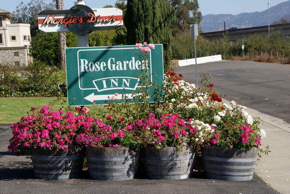 Rose Garden Inn: Best Hotel in San Luis Obispo :-)