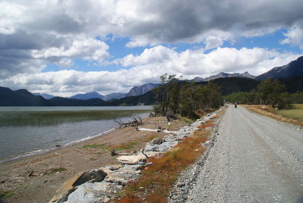 Last kilometers on the Carretera Austral.