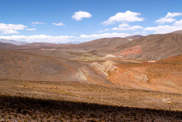 Last pass before the long downhill Purmamarca and Jujuy.