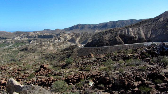 Downhill to Santa Rosalia