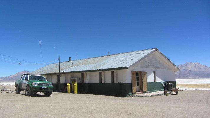 Ranger station Chilcaya